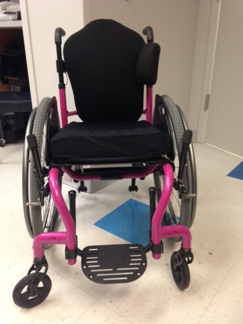 q7 rigid frame wheelchair